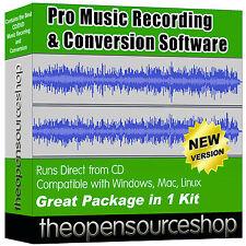 Software di editing musicale Pro Pack-Convertitore di file audio & Digital Sound Recorder