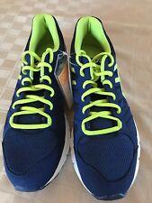 SAMPLE ASICS Gel Unifire TR 3 Running Shoes Blue/white/neon Men's Size 9
