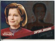 Star Trek Voyager Quotable Starfleets Finest Chase Card F1