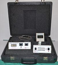 Victoreen Nuclear Associates X Ray Dosimeter Kit In Case