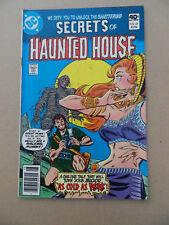 Secrets Of Haunted House 27 . DC 1980 . FN +