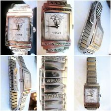versace swiss  Montre watch  femme isq99 lady swiss mouvement quartz acier