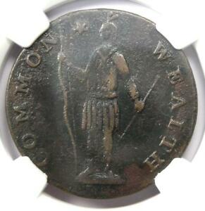 1788 Massachusetts Cent Colonial Copper Coin - Certified NGC XF Details - Rare!