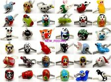 20PCS Lovely mixed Animal Lampwork Glass Beads Fit European Charm Bracelet