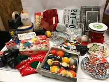 Junk Drawer Flea Market Lot Assorted items Vtg Nikon Disney Leap Frog LEGO