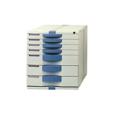 Max File Cabinet 7 Index, Key Lock  Office Life Mix Small & Large Drawers MK070