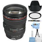 Canon 24-105mm f/4L IS EF USM AF Lens!! STARTER BUNDLE BRAND NEW!!