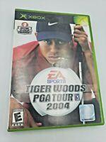 Tiger Woods PGA Tour 2004 (Microsoft Xbox, 2003) No Manual Free Shipping