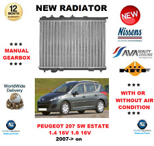 pour Peugeot 207 SW Break 1.4 16V 1.6 16V 2007> NEUF Radiateur qualité fabricant