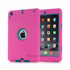 For iPad Mini 1/2/3 Retina Shockproof Heavy Duty Rubber Hard Case Cover USA