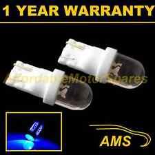 2x W5W T10 501 Xenón Azul Cúpula Luz Lateral Led Bombillas de Faros SL100104