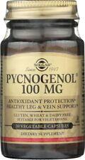 Solgar Pycnogenol 100mg 30 Vegetable Capsules