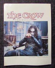 1995 THE CROW The Movie by Conner & Zuckerman SC Sealed Kitchen Sink