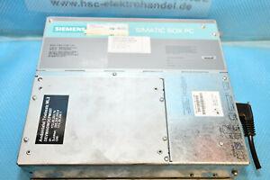 Siemens 6ES7647-6AA10-0AX0 SIMATIC Box PC 627 (AC)