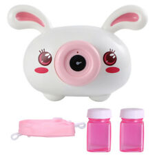 Electric Automatic Bubble Blowing Maker Camera with cute design For Kids