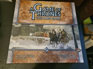 A Game of Thrones The Card Game  Fantasy Flight Games COMPLETE. Free P+P.