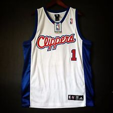 7c3775925 100% Authentic Baron Davis Clippers NBA Adidas Jersey Size L 44 Mens