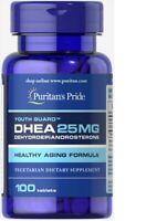 Puritans Pride DHE-A 25mg -100 Tabletten EXP/2022
