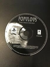 Populous The Beginning PS1 PAL