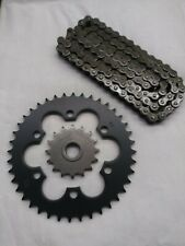Bombardier Ds650 Sprocket and & Heavy Duty Natural Chain Kit (Fits: Bombardier)