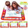 Enfants jouet eau dessin écriture peinture tapis board 2 magic stylos doodle mat