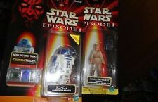 STAR WARS EPISODE 1 R2D2 WITH BOOSTER ROCKETS PLUS ANAKIN WITH BACKPACK MOCS
