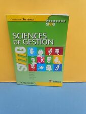 STMG 1re : SCIENCES DE GESTION - collection SYSTÈMES - éd.FOUCHER 2014 - NEUF