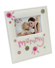 Mummy  shabby chic style Photo Frame 6x4""