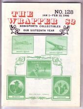 THE WRAPPER #128 - 1995 Non-sports cards fanzine
