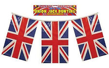 Union Jack Bunting 128FT of Party Flags Great Britian UK Street Party