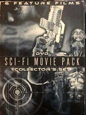 Sci-Fi Movie Pack 6 Films Future Zone Future Force Firehead Space Mutiny