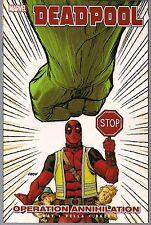 Deadpool Vol 8 Operation Annihilation Marvel Sc Gn Tpb Incredible Hulk New