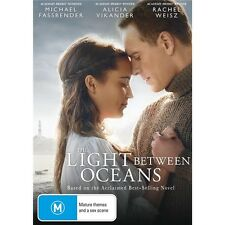 THE LIGHT BETWEEN OCEANS-Michael Fassbender-Region 4-New AND Sealed