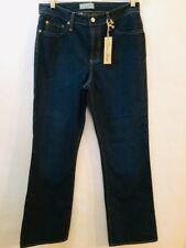 NWT Zena Jeans Womens Size 10 (measures W31xL31) Distressed Dark Wash Bootcut