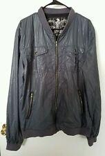 Urban Outfitters Charles   1 2 Zipper Windbreaker jacket high fashion 2xl  xxl 5b1d41567