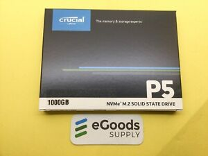 Crucial P5 1TB 3D NAND NVMe Internal SSD, up to 3400MB/s CT1000P5SSD8