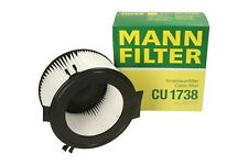 Filter Innenraumluft CU 1738 MANN-FILTER