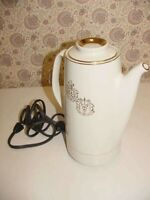 Hall China 5200 Electric Percolator Coffee Pot RX Medical Insignia Pharmacy Med