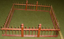 "New Listing Antique Wood Christmas Tree Fence 18"" square 1920s"