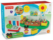 Fisher Price-Little People-Azienda Agricola Giardino & Stand ** GRANDE REGALO **