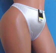 VIOLA'S Pink Satin Shiny wetlook stretch thong sissy bikini panties S M L XL