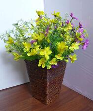 4 Colors Artificial Small Chrysanthemum Flowers Grass