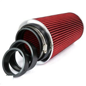 Car Accessories High Flow Cone Air Intake Filter For Truck/SUV 76/89/101mm Inlet