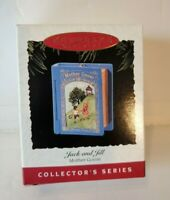 Hallmark Mother Goose #3 Jack and Jill Keepsake Ornament in Original Box NOS NEW