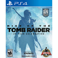 Rise of the Tomb Raider: 20 Year Celebration Ps4 [Brand New]
