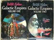 GALACTIC EMPIRES ~ VOLUMES 1 & 2 ~ BRIAN ALDISS ~ BOOK CLUB EDITIONS ~ HC