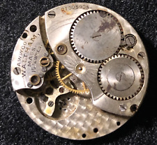 Movement 315 Parts 3/0s 15j Usa Vintage 1917 Waltham Model 1900 Pocket Watch