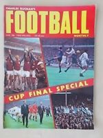 FOOTBALL MONTHLY MAGAZINE JUNE 1968 - FA CUP SPECIAL EVERTON v WEST BROM