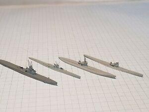 Waterline Navis/Mercator Submarines U.S & Germany WW2 1:1250 vintage boxed
