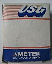Metek Pressure Gauge 046646a 30 0 60 Psi 14 Lpt Lm Us Gauge New Old Stock